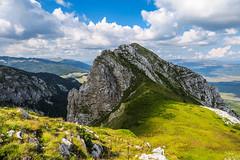 Dinara mountain, Bosnia and Herzegovina (HimzoIsić) Tags: landscape mountain mountainside peak hiking poeple plant grass outdoor nature mountaineering rock sky clouds