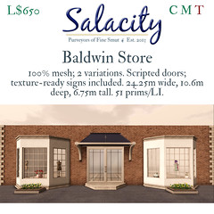 Salacity Baldwin Store (angie.rasmusson) Tags: secondlife salacity architecture building store shop mesh retail mainstore