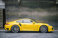 991.1 Turbo S (KwokCH) Tags: porsche 911 carrera 911carrera porsche911 turbo turbos pccb yellow 9911 991 singapore stregis