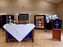 Communion Service at the Forge (luckypenguin) Tags: scotland northlanarkshire lanarkshire cumbernauld balloch churchofscotland forge forgecommunitycentre worship communion holycommunion sacrament