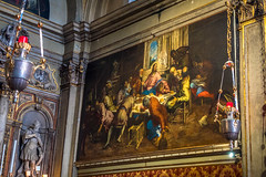 A beautiful painting inside a church in Venice.  I wish I could recall it's importance.  Feel free to comment and tell me why it's special.