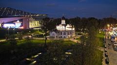 Zaryadye Park. Moscow, Russia (varfolomeev) Tags: 2018 россия город ночь russia city night fujifilmxt10 samyang12mm church церковь