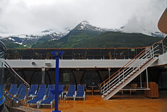 Carnival Legend. Endicott Arm, Alaska. (Infinity & Beyond Photography: Kev Cook) Tags: carnival legend cruises cruising cruise ship endicott arm fjord alaska inside passage deck mountains