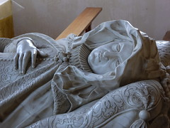 Lady Carey Monument, Stowe Nine Churches (Aidan McRae Thomson) Tags: stoweninechurches churchstowe church northamptonshire tomb monument baroque sculpture carving nicholasstone effigy marble