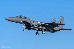 F-15E   492nd Fighter Squadron (lee adcock) Tags: 492nd 910316 f15e nikond500 tamron150600g2 airplane lakenheath usaf