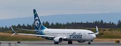 Alaska 737 at ANC (Alaskan Dude) Tags: travel alaska anchorage anchorageinternationalairport airplane airplanes airliners aviation planes planespotting planewatching
