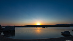 Dans le golfe de Figari-007 (bonacherajf) Tags: corse corsica figari pianottoli golfe plage beach sunset coucherdesoleil poselongue heurebleue bluehour