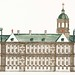 The City Hall in Amsterdam by Johan Teyler (1648 -1709). Original from the Rijks Museum. Digitally enhanced by rawpixel.