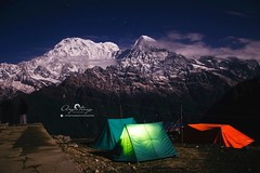 Magnificient view captured during mardi himal trek. (ujjal.maharjan) Tags: himalayas trekking wanderlust hiking fillingsoul adventure mountains man sky adrenaline travel junkie paradise wander go fly voyage explore discover moments life lifestyle fitness mountain snow annapurna circuit heaven heritage view beauty mountainside contrast morning local machapuchre fishtail mardi base camp night star tent