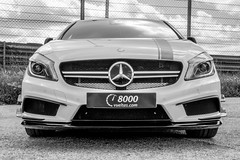 Mercedes-Benz AMG A45 (Miguel Angel Prieto Ciudad) Tags: mercedesbenz amg turbo sportcar car coche cars auto automobile automotive mirrorless motor motorshow madrid circuitodeljarama blancoynegro blackandwhite monochrome sonyalpha sonyalphadslr sony
