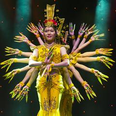 DAG_8667r (crobart) Tags: thousand hand bodhisattva eyes yate dance acrobatic team chinese china canadian national exhibition cne 2018 toronto