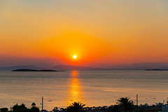 Sunset in Vouliagmeni, Athens