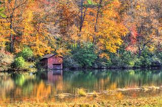 Desoto Red Boathouse