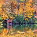 Desoto Red Boathouse (the waterfallhunter) Tags: desotofalls littleriver mentonealabama