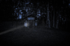 Van Norstran Ghost (Louis Quattrini) Tags: cemetery crypt ghost haunted creepy dark grave digitalart photoart lost forgotten abandoned