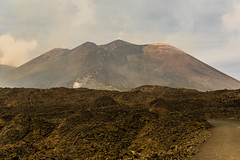 etna (karwinho) Tags: etna volcano sicily sicilia italy italia volcanic nature martian landscape sulfur lava magma crater catania clouds vapor mist ground earth mountain hill slag peak