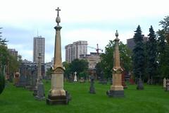 040 -1vib1stpffwlcon (citatus) Tags: gravestone gravestones st michaels cemetery yonge street toronto canada fall afternoon 2018 pentax k3 ii