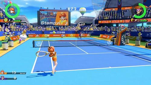 Mario Tennis Aces Daisy