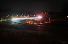 Highway Star (Bo Ragnarsson) Tags: highway night väg motorväg lights car bil road roadtrip natt landsväg boragnarsson strase nacht fahren
