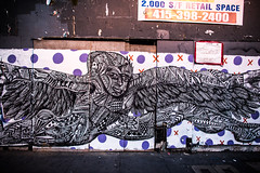 Go Melt Back in the Night (Thomas Hawk) Tags: america bayarea california mission missiondistrict sf sfbayarea sanfrancisco usa unitedstates unitedstatesofamerica westcoast graffiti fav10