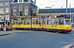 Gele gevaar (railfan3) Tags: amsterdam gvb gemeentevervoersbedrijf openbaarvervoer 1977 weteringscircuit lijn7 amsterdamsetrams amsterdamtrams amsterdamse amsterdams lightrail stuurstromers geletrams oudelijn7 werkspoortrams wagentypes materieel trammaterieel trams trolleys tramcars tram transport tramway triebwagen trammetjes tramwegmaterieel tramtracks tramvoertuigen tramstramlijnen gelede5g oldtimers oldtrams ouderwetse oudetrams klassieketrams classictrams vintagetrams retrotrams rodedaf streetcars strassenbahnwagen strasenbahn streetscene amsterdamtram tramroute nederlandse nederland
