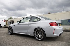 BMW M2 Competition in Hockenheim Silver (Detailers Domain) Tags: bmwm2 m2competition bbsfir bbswheels michelintires bmw bmwm hockenhiemsilver newcarprep paintprotectionfilm nanolex car care nanolexsi3dhd