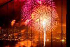 Golden Gate Fireworks (Thomas Hawk) Tags: 75thbirthdaygoldengatebridge america batteryspencer california goldengatebridge marin marinheadlands sanfrancisco usa unitedstates unitedstatesofamerica bridge fireworks millvalley us fav10 fav25 fav50