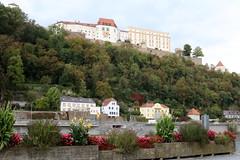 Passau: Veste Oberhaus auf dem Georgsberg (Helgoland01) Tags: passau niederbayern bayern deutschland germany burg castle