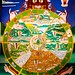 Paro - Rinpung Dzong - The six realms of rebirth and existence