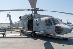 Sikorsky SH-60 Seahawk (orange27) Tags: sikorskysh60seahawk sh60seahawk helicopter aircraft ussmidwaycv41 ussmidway cv41 midwayclassaircraftcarrier aircraftcarrier usnavy sandiego california unitedstates northamerica