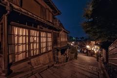 Gion (karinavera) Tags: city night photography cityscape urban ilcea7m2 japan street nopeople kyoto