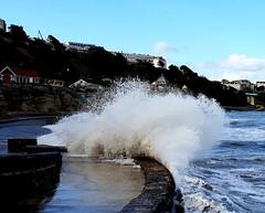 Sunny Scarborough 22/09/18 (nikola swann) Tags: waves coast scarborough sky sea