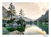 Hintersee @ Ramsau bei Berchtesgaden (cornelis1980) Tags: alps mountain range lake see meer rocks landscape picture photo image water green evening sun sky trees beautiful calm nature fujifilm