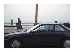 _K001596 (Jordane Prestrot) Tags: ♍ jordaneprestrot tenerife candelaria voiture car coche crépuscule sunset crepúsculo océan ocean océano atlantique atlantic atlantico