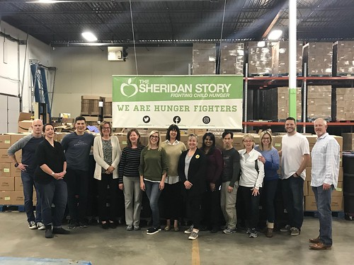 St. Paul Chamber of Commerce Packing Event 9/27/18