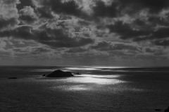 Expressions from the Pembrokeshire Coastal Path (shawn~white) Tags: 50mm bw blackandwhite canon6d pembrokeshire uk wales bold clouds coast dark dramatic enchanting island ocean primelens sea sky spiritual sunshine wonder