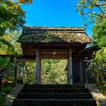 The main gate of Tokeiji temple in Kamakura : 東慶寺山門 thumbnail