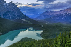 Often Overlooked (Anne Strickland) Tags: canadianlandscape rockymountains alberta bowsummit jaspernationalpark banffnationalpark peytolake