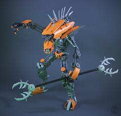 Son of Makuta - Insect Control ([VB]) Tags: bionicle lego moc rahkshi villain insectoid beast