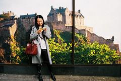 Edinburgh Street Photography. (BadAlbert) Tags: streetphotography edinburgh scotland canpubphoto candid urban citylife travel people places analogue believeinfilm 35mm nikonf3 kodak portra160