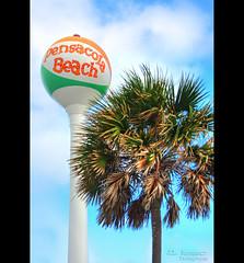 Pensacola Beach Ball Water Tower (J.L. Ramsaur Photography) Tags: hdr worldhdr hdraddicted bracketed photomatix hdrphotomatix hdrvillage hdrworlds hdrimaging hdrrighthererightnow pensacolabeachballwatertower pensacolabeachballtower watertower beachball palmtree jlrphotography nikond7200 nikon d7200 photography photo 2018 engineerswithcameras photographyforgod thesouth southernphotography screamofthephotographer ibeauty jlramsaurphotography photograph pic tennesseephotographer pensacolabeachfl florida escambiacountyflorida emeraldcoast beach ocean gulfofmexico sand waves pensacolabeach floridapanhandle worldswhitestbeaches cradleofnavalaviation gulfislandsnationalseashore westerngatetothesunshinestate americasfirstsettlement pensacolabeachflorida pcola redsnappercapitaloftheworld cityoffiveflags pcolabeach structuresofthesouth engineeringasart ofandbyengineers engineeringisart engineering sign signage it'sasign signssigns iloveoldsigns iconic monument symbol bluesky deepbluesky beautifulsky whiteclouds clouds sky skyabove allskyandclouds