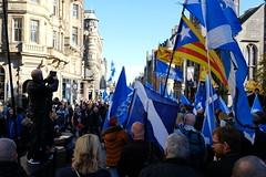 Scottish Rebels (macconnechy) Tags: allunderonebanner 193000marchforfreedom fujixf23mmf14 freedom proeuropean europe edinburgh independence scotland