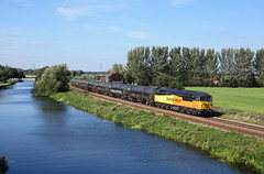 56078 Godnow Bridge 25/9/18 (Ram 69) Tags: 56078 6e32 stainforthkeadbycanal class56 grid colas colasrailfreight godnowbridge