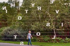 E Is Lost (pni) Tags: through grass plant human metal letter being text person people boy steelwire kid sculpture art friezesculpture2018 regentspark uk18 london uk england unitedkingdom pekkanikrus skrubu pni