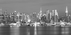 NYC Skyline (Jemlnlx) Tags: canon eos 5d mark iv 4 5div 5d4 ef 2470mm f28 l usm new york city nyc ny skyline jersey nj hamilton park john f kennedy jfk blvd east bw blackandwhite blackwhite bandw