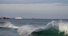 IMG_0069  marée haute à Saint-Malo (gerardstmalo) Tags: wawes vagues tide marée saintmalo