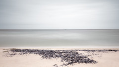 Beachscape (Bernd Walz) Tags: sea seascape beach sylt northsea ocean clouds light wind longexposure color minimalistic minimalism fineart sand strand himmel meer wasser landschaft