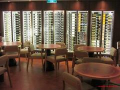 Norwegian Bliss, The Cellars, A Michael Mondavi Family Wine Bar, wine coolers 2018-09-07 SU IMG_5321 (acturpin) Tags: norwegianbliss thecellars amichaelmondavifamilywinebar winecoolers