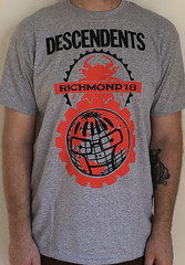 #3132A Descendents - Richmond 2018 (Minor Thread) Tags: minorthread tshirtwars tshirt shirt vintage rock concert tour merch grey descendents all milo honorrole richmond va 2018 chrisshary epitaph records