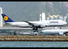 B747-8i | Lufthansa | 1,500th Boeing 747 | D-ABYP | HKG (Christian Junker | Photography) Tags: nikon nikkor d800 d800e dslr 70200mm teleconverter aero plane aircraft boeing 747830 747800 7478i 747 748 74h b748 intercontinental deutschelufthansa lufthansa lh dlh lh796 dlh796 lufthansa796 dabyp staralliance nordrheinwestfalen heavy widebody jumbo 1500thboeing747 speciallivery specialcolour specialscheme arrival landing 25r fog haze airline airport aviation planespotting 37839 1500 378391500 hongkonginternationalairport cheklapkok vhhh hkg hkia clk hongkong sar china asia lantau spottingbyboat christianjunker flickraward flickrtravelaward hongkongphotos worldtrekker superflickers zensational